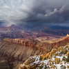 Lipan Point in Storm - Grand Canyon NPS