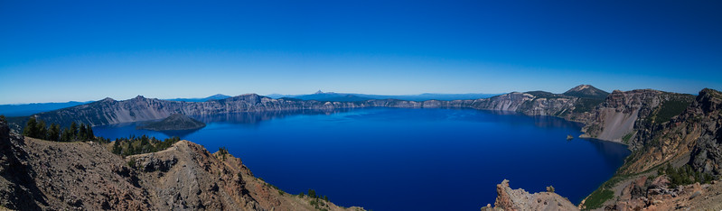 Crater Lake Summer Panorama