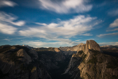 Golden Light from Glacier Point - Yosemite NPS