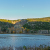 Beaver Pond with Half Moon