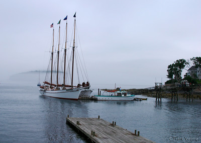 Tall Ship in Bar Harbor, Maine