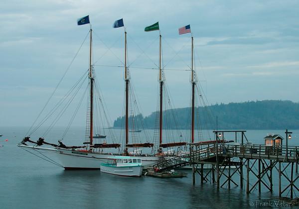 Tall Ship in Bar Harbor ME