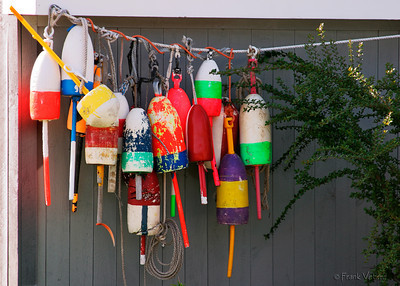 Lobster Buoys in Maine