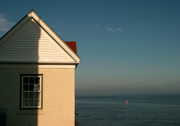 Lightkeeper's House On Coastal Maine