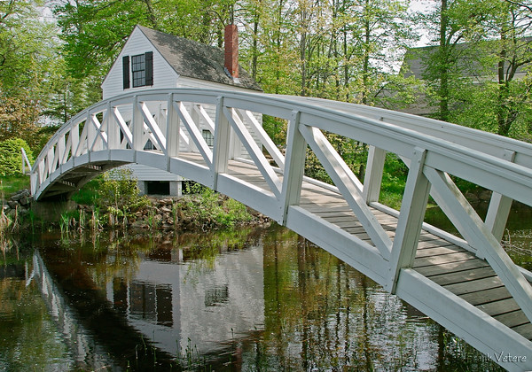 Wooden Bridge in Somesville, Acadia National Park, Maine