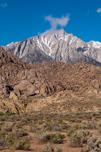 Alabama Hills Recreation Area, BLM, Nevada, in May 2011.