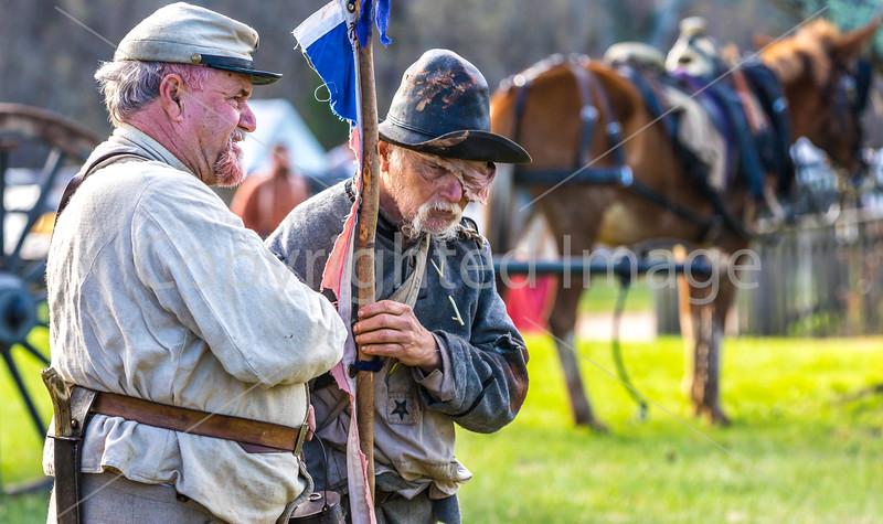 Appomattox Court House Nat'l Historic Park, VA, on 150th Anniversary of surrender-0139 - 72 ppi