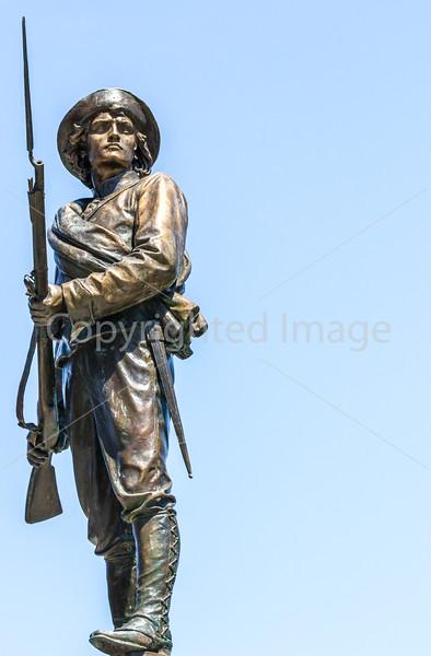 Civil War soldier statue in Lynchburg, Virginia - 0561 - 72 ppi