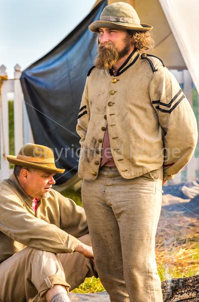 Appomattox Court House Nat'l Historic Park, VA, on 150th Anniversary of surrender-0185 - 72 ppi