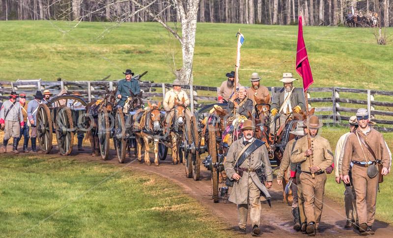Appomattox Court House Nat'l Historic Park, VA, on 150th Anniversary of surrender-0016 - 72 ppi-2