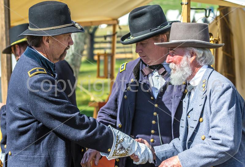 Appomattox Court House Nat'l Historic Park, VA, on 150th Anniversary of surrender-0435 - 72 ppi