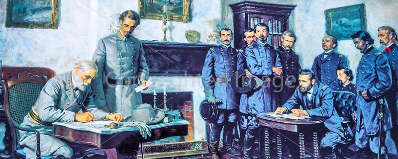 Appomattox Court House Nat'l Historic Park, VA, on 150th Anniversary of surrender - C1--0001 - 72 ppi