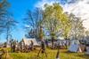 Appomattox Court House Nat'l Historic Park, VA, on 150th Anniversary of surrender - C1--0088 - 72 ppi