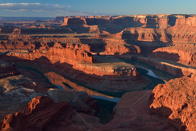 Dead Horse Point Overlook (River bend side)
