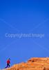 Runner along Colorado River north of Moab, Utah - 10#2 - 72 ppi