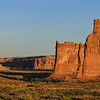 Three Gossips and Courthouse Towers at sunrise