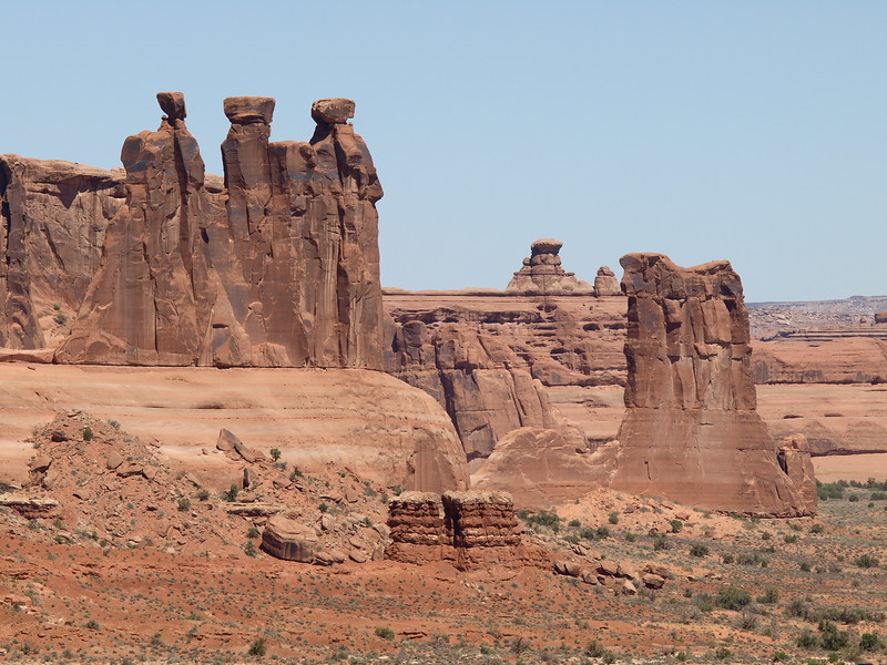 Three Gossips & Sheep Rock