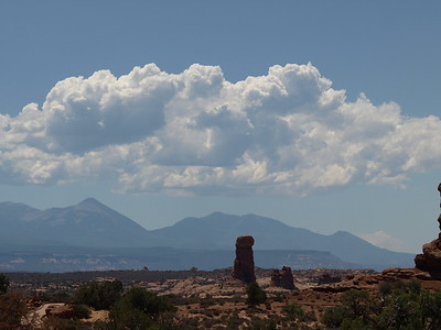 Clouds over Moab
