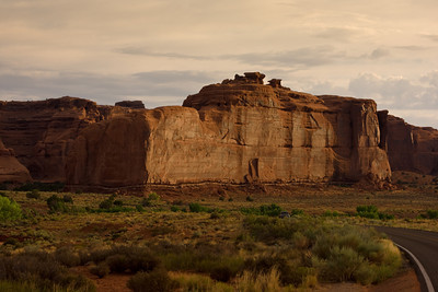 Tower of Babel, Arches National Park, Moab, Utah