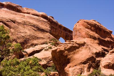 Partition Arch, Arches National Park, Moab, Utah