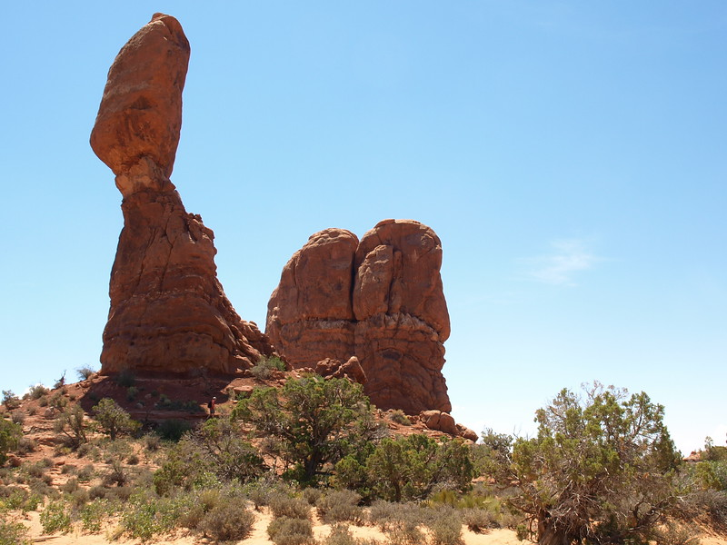 Balanced Rock & Chip off the Old Block