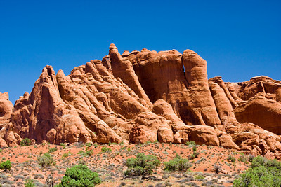 Salt Valley Overlook, in the Fiery Furnace Area of Arches National Park, Moab, Utah
