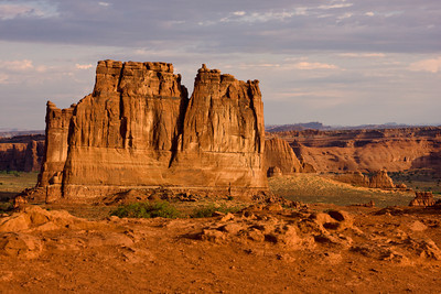 The Organ, in the Courthouse Towers, Arches National Park