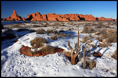 On Broken Arch Trail, late afternoon