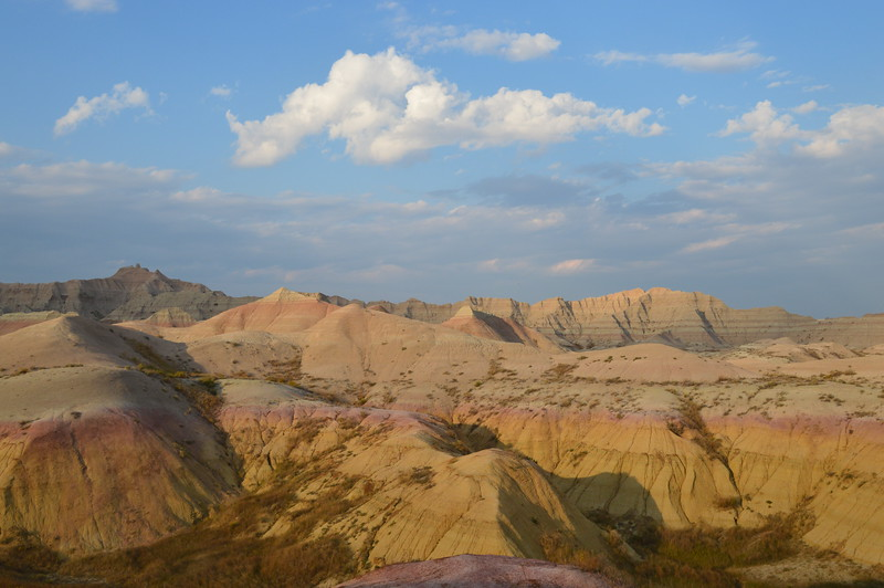 Yellow Mounds of the Badlands
