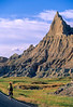 Cyclist at Badlands National Park in South Dakota - 8 - 72 ppi