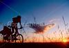 Cyclist at Badlands National Park in South Dakota - 16 - 72 ppi