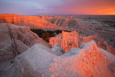 When Bad is Good, Sunset in Badlands National Park