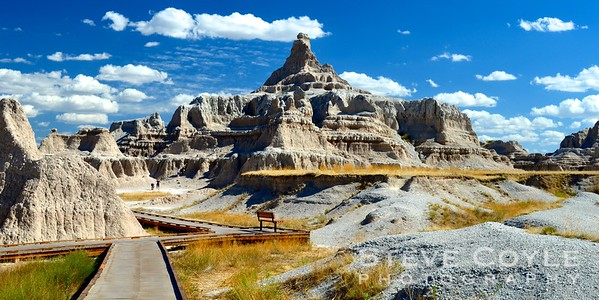 One of my favorite shots from the Notch Trail at Badlands National Park!