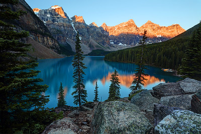 Moraine Lake Sunrise, Banff National Park