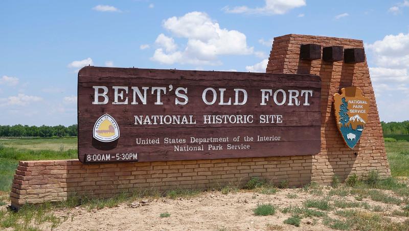 Bent's Old Fort National Historic Site entrance
