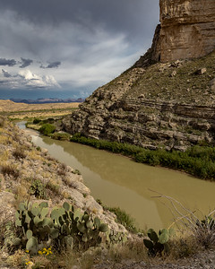 Rio Grande River in Santa Elena Canyon