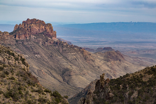 Boot Canyon with Mexico in the Distance