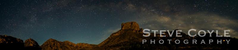 Chisos Basin at Night