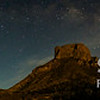 Chisos Basin at Night