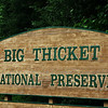 Big Thicket National Preserve entrance