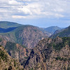 Canyon twists in the distance - From Tomichi Overlook