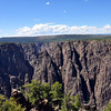 Looking down the canyon from Gunnison Point