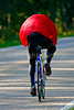 Cyclists on Skyline Drive in Blue Ridge Mountains, near Big Meadows - -0177 - 72 dpi