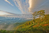 Post-rain, high-wind sunset view of Shenandoah Nat  Park from northern part of Skyline Drive in Virginia - 72 dpi - -0109