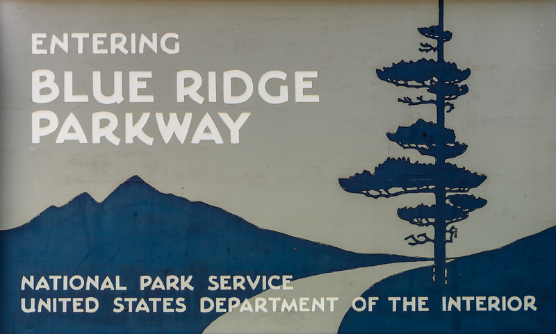 Blue Ridge Parkway Entry