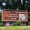 Booker T. Washington National Monument entrance
