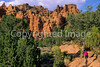 Mountain biker in Casto Canyon near Bryce Canyon Nat'l Park, Utah - 4 - 72 ppi