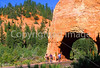 Cycle Utah riders in Red Canyon near Bryce Canyon Nat'l Park - 1 - 72 ppi