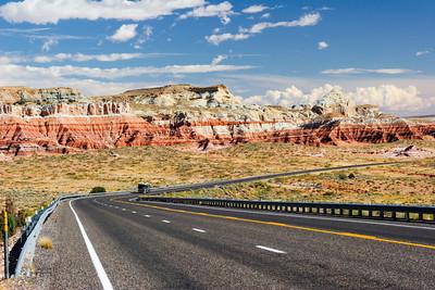 Route 89 in Southern Utah