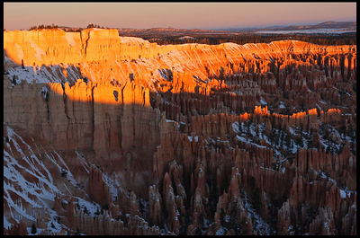 Bryce Point, Sunrise
